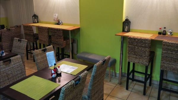 Salle du restaurant - Sushi Eden St Max, Saint-Max