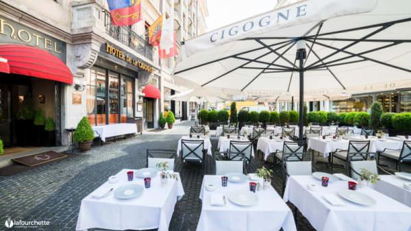 Terrasse - Restaurant de la Cigogne, Genève