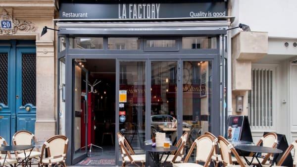 terrasse - La Factory Burger, Paris