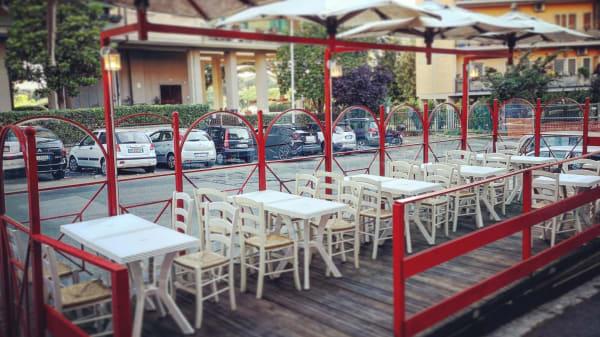 Esterno - Pizzeria da Antonio, Rome
