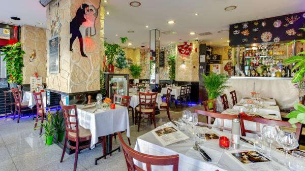 Salle du restaurant - Les Comédiens, Paris