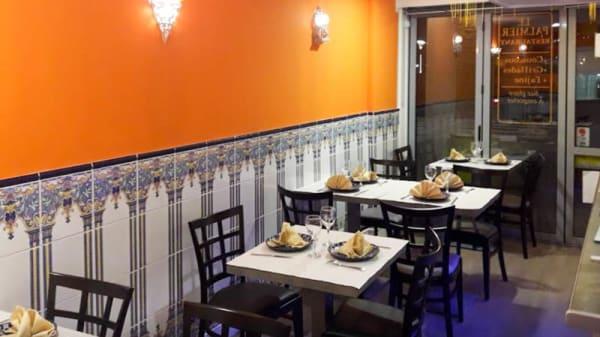 Salon du restaurant - Le Palmier, Dieppe