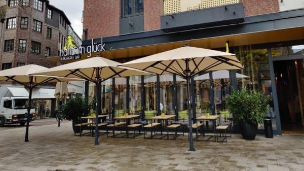 Terrasse - HANS IM GLÜCK Burgergrill & Bar - Krefeld SCHWANENMARKT, Krefeld