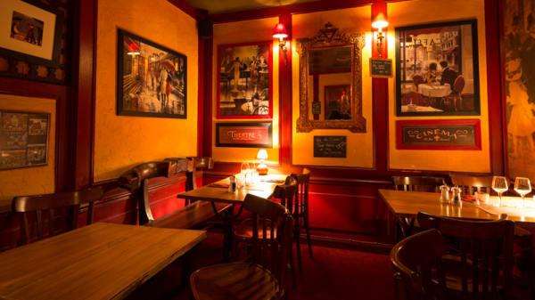 Salle du restaurant - Le Vieux Murier, Tours