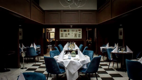 het restaurant - Het Prentenkabinet, Leiden