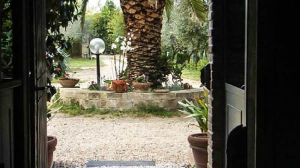 vista del giardino - Campo alle Tane, Cecina