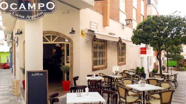 Terraza - OCampo Cocina Argentina, Benalmadena