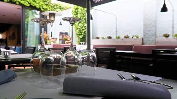 Binnentuin  - le VIN 'x - Restaurant | Wijn, Den Bosch
