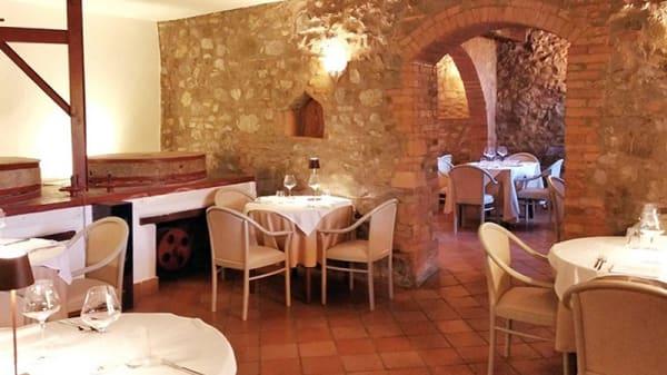 Vista della sala - Il Mulino di Quercegrossa, Monteriggioni