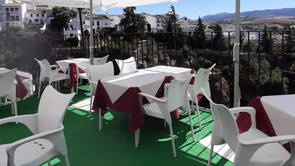 Terraza - Casa Santa Pola, Ronda
