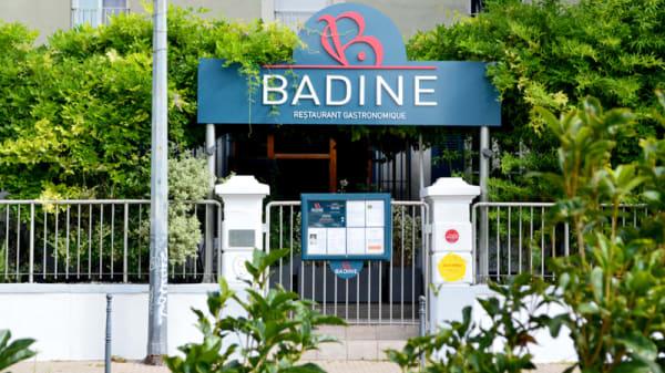 Devanture - Bistrot Badine, Grenoble