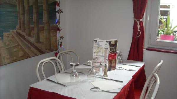 Table dressée - Bistrot des Idoles, Vincennes