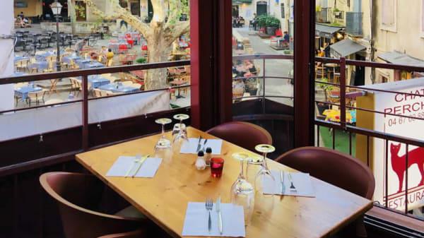 Détail de la table - Le Chat Perché, Montpellier