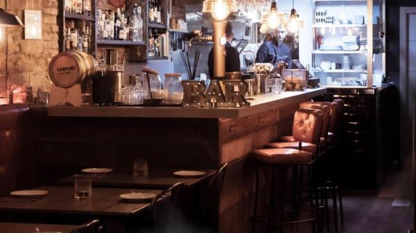 vista sala - Abanik Bar, Barcelona