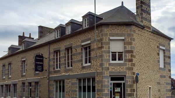 restaurant L'Atelier : la facade - Restaurant L'Atelier, Flers