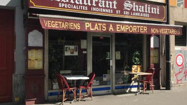 Shalini, Paris