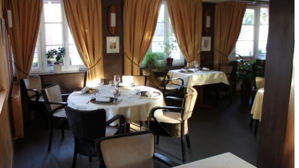 Vue de la salle - L'Hostellerie d'Acquigny, Acquigny
