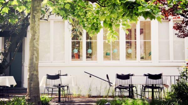 Vue de la terrasse - Bouchéry, Uccle