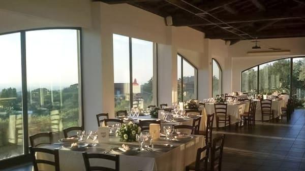 Interno del ristorante - La Vite e gli Ulivi, Ariccia