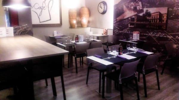 Vista sala - Cafè-Café, Barcelona
