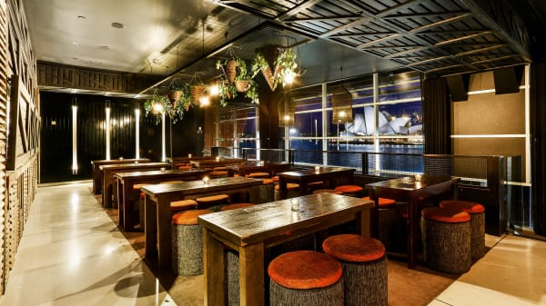 Junk Lounge at Cruise Bar, The Rocks (NSW)