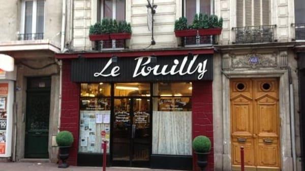enseigne - Le Pouilly Reuilly, Le Pré-Saint-Gervais
