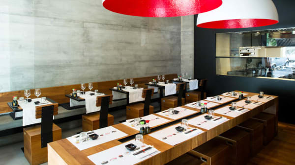 Vista sala - Daruma Restaurant - Ponte Milvio, Roma