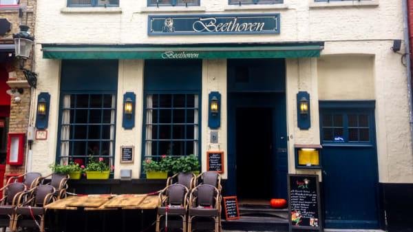 Devanture - Beethoven, Bruges