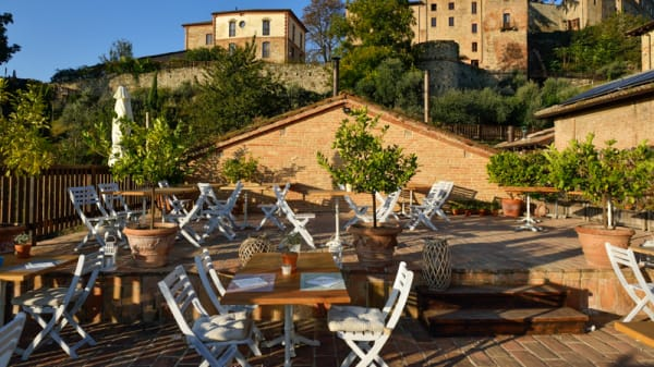 La terrazza con vista Castello - Antico Caseificio di Tabiano – Tabiano Castello, Salsomaggiore Terme