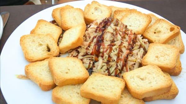 Sugerencia de plato - Marina Villarreal, Olivenza