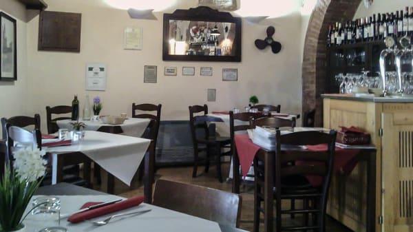 Vista sala - Osteria Sotto Le Logge, Montepescali, Grosseto