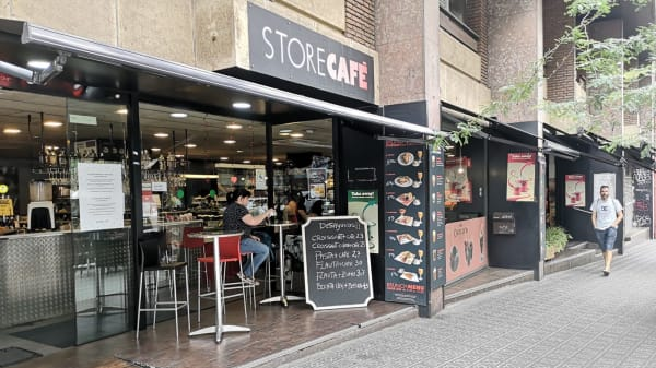 Entrada - StoreCafé, Barcelona