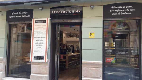 entrada - Revolución Mx, Málaga