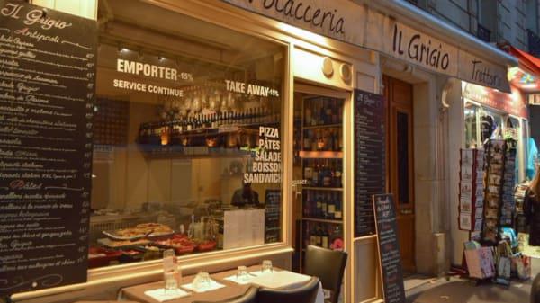 Terrasse - Il Grigio, Paris