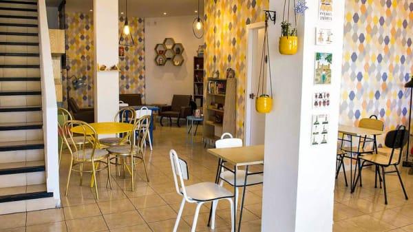 Vista de la sala - Mosaic Cafe, Palma de Mallorca