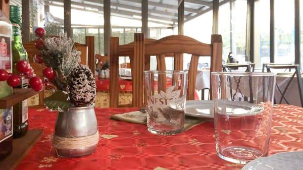 Vista de la mesa - La Gaviota, Oropesa Del Mar