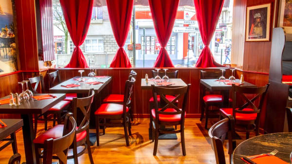 Salle du restaurant - Via Mamma, Clamart