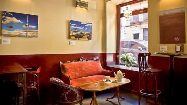 Vista sala - Café Cósmico, Madrid