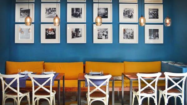 vista mesa y decoración - Dolci Parole, Barcelona