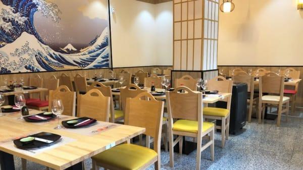 Vista del interior - Dahe Sushi, Alcorcón
