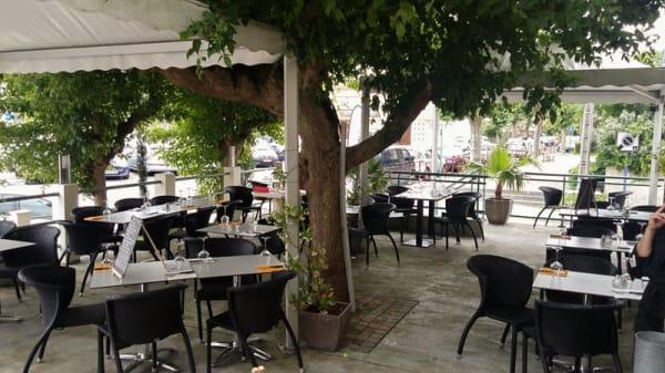 Terrasse - Brasserie de la Gare - BGL Cafe - Langon, Langon