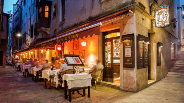 La terrazza esterna - Bistrot de Venise, Venezia