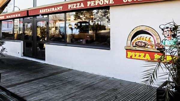 exterieur - Pizzeria Pepone, La Motte-Servolex