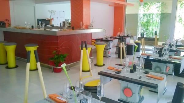 Vista de la sala - Shibumi Sushi Bar & Restaurant, Potenza