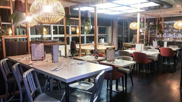 Vue de la salle - Arômé Restaurant & Bar à Vins, Massy