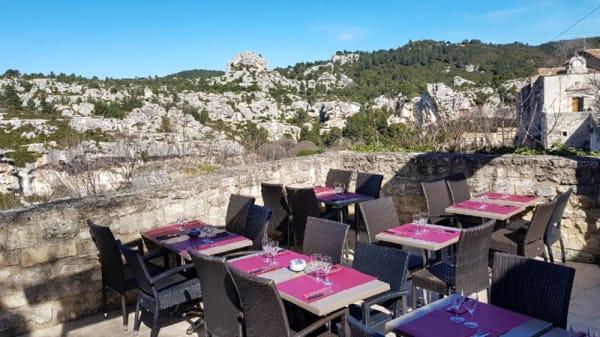 Vue de la terrasse - La Bella Vista, Les Baux-de-Provence