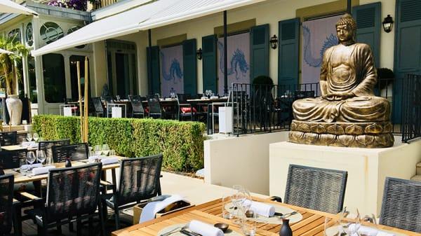 BUDDHA BAR BEACH by BUDDHA BAR -TM- at Grand Hôtel du Lac - BUDDHA BAR BEACH by BUDDHA BAR -TM- at Grand Hôtel du Lac, Vevey
