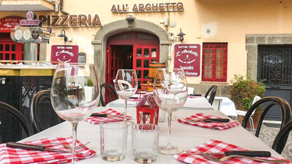Esterno - All'Archetto, Marino