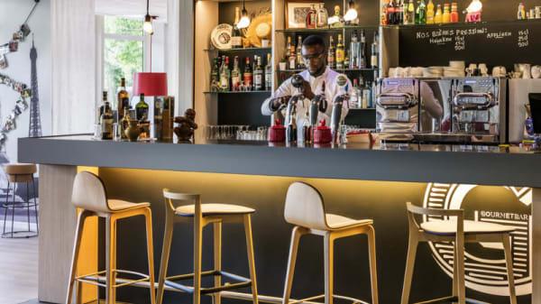 La salle du Gourmet Bar - Gourmet Bar Saclay, Saclay