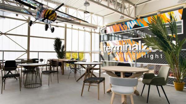 Vista de la sala - Terminal Zero, Zaragoza